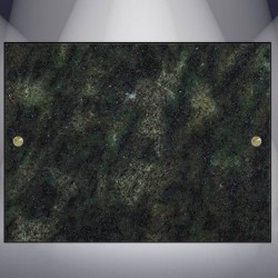 DECORATIVE PLATE GRANITE VERT TROPICAL