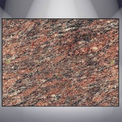 DECORATIVE PLATE GRANITE ROSE D'ALVA