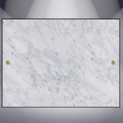 DECORATIVE PLATE GRANITE MARBRE BLANC