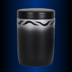FUNERAL URN immersible BLACK