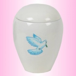 FUNERAL URN CHILD - DOVE BLUE