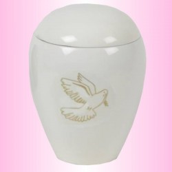 FUNERAL URN CHILD - DOVE GOLDEN