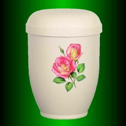 URN BIODEGRADABLE LIGNIN - ROSES