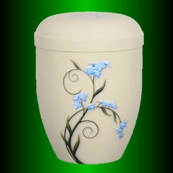 URN BIODEGRADABLE LUXE LIGNIN - BLUE