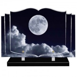 FUNERAL PAPER PLATE altuglass - FULL MOON