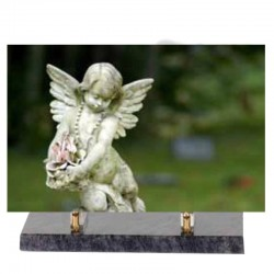 FUNERAL ALTUGLAS ANGEL PLATE 30 * 20 or 35 * 25