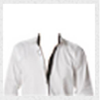 COSTUME CHEMISE BLANCHE REF CM H7