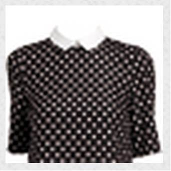 COSTUME ROBE A POIS REF CM H13
